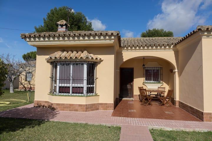 Holiday villa located in a quiet area