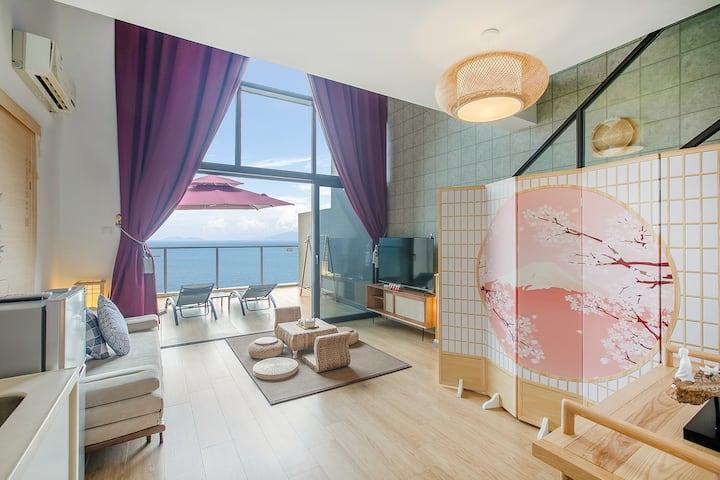 华润小径湾·复式双层一房一厅·新中式·海景房