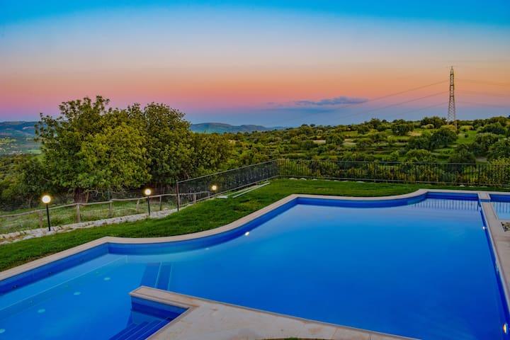 """""""Immerso nella natura"""", Villa Gaia"""