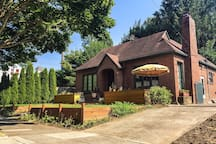 Start your visit to Portland in this rare, all brick home!
