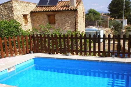 Traditional chalet with swimming pool - Masdenverge