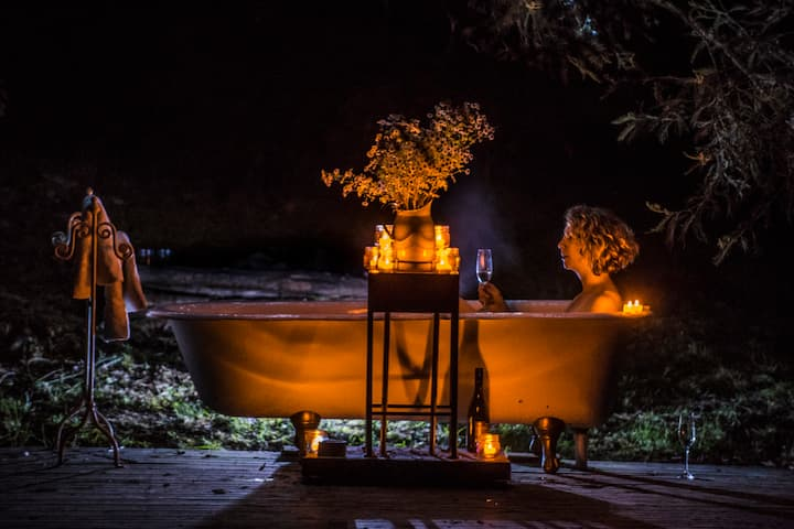 Kissing Gate luxury glamping. World's top 14.