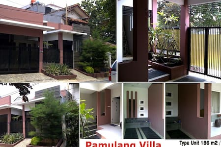 Private room with shower & big bed - Pamulang selatan  - Ev
