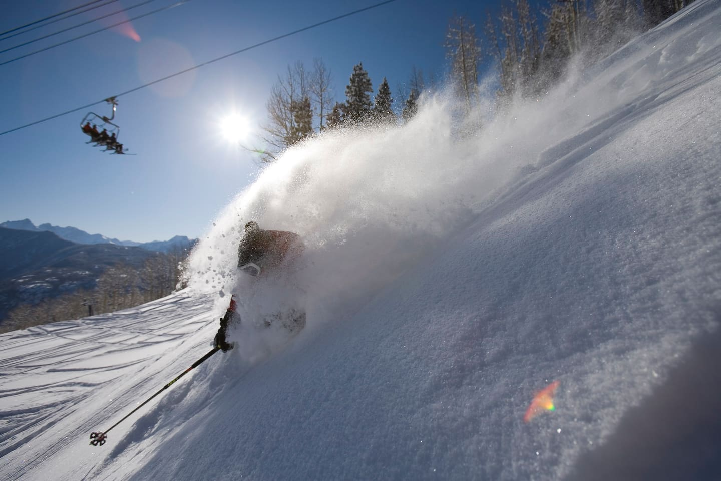 Relish a town voted one of the best ski venues in the US!