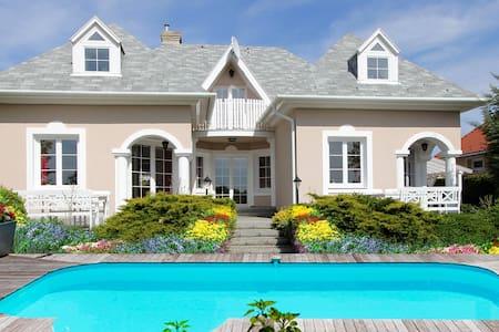 Luxe Privé villa met zwembad - Gyenesdiás - Villa