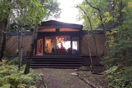 Mid Century See-Through Cottage - Sandy Hook - Cabane