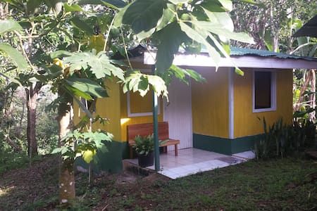 Cabin in the middle of nature in Finca Los Pilares