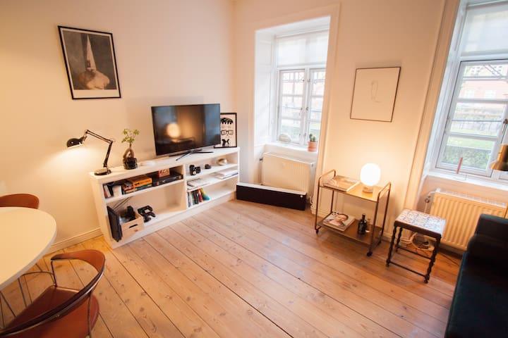 Spacious apartment in the central Nørrebro - København - Apartment