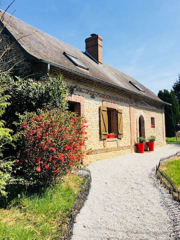 Jolie maison normande ds le Perche à 2h de Paris