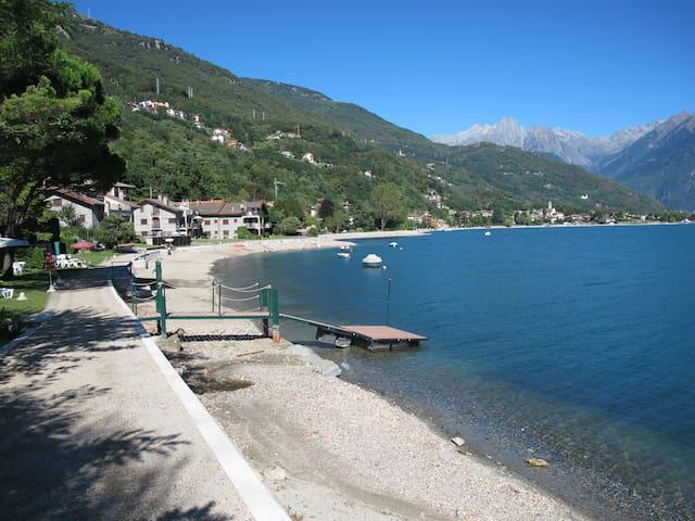 Casa vacanze Garden - 50 metri dal Lago di Como - Gera Lario - Inny