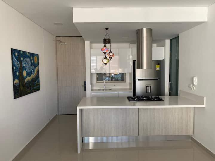 Espectacular Apartamento en  con Salida al mar!!