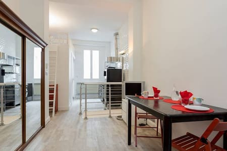 Eiffel Tower - Charming duplex with private patio