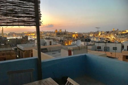 Townhouse with great view in Cospicua