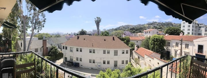 West Hollywood home with a view