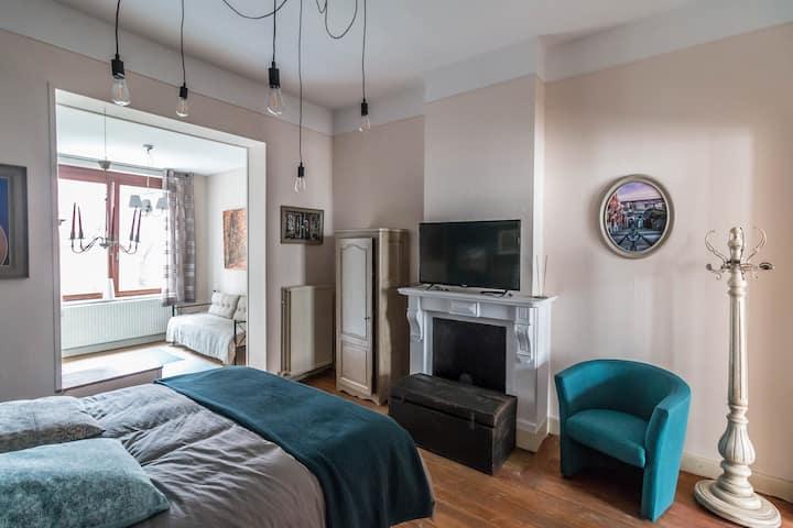 Superbe appartement complet (centre de Liège)