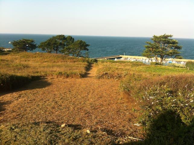 Maison moderne sur l'Ile de Houat (Natura 2000) - Île-d'Houat - House
