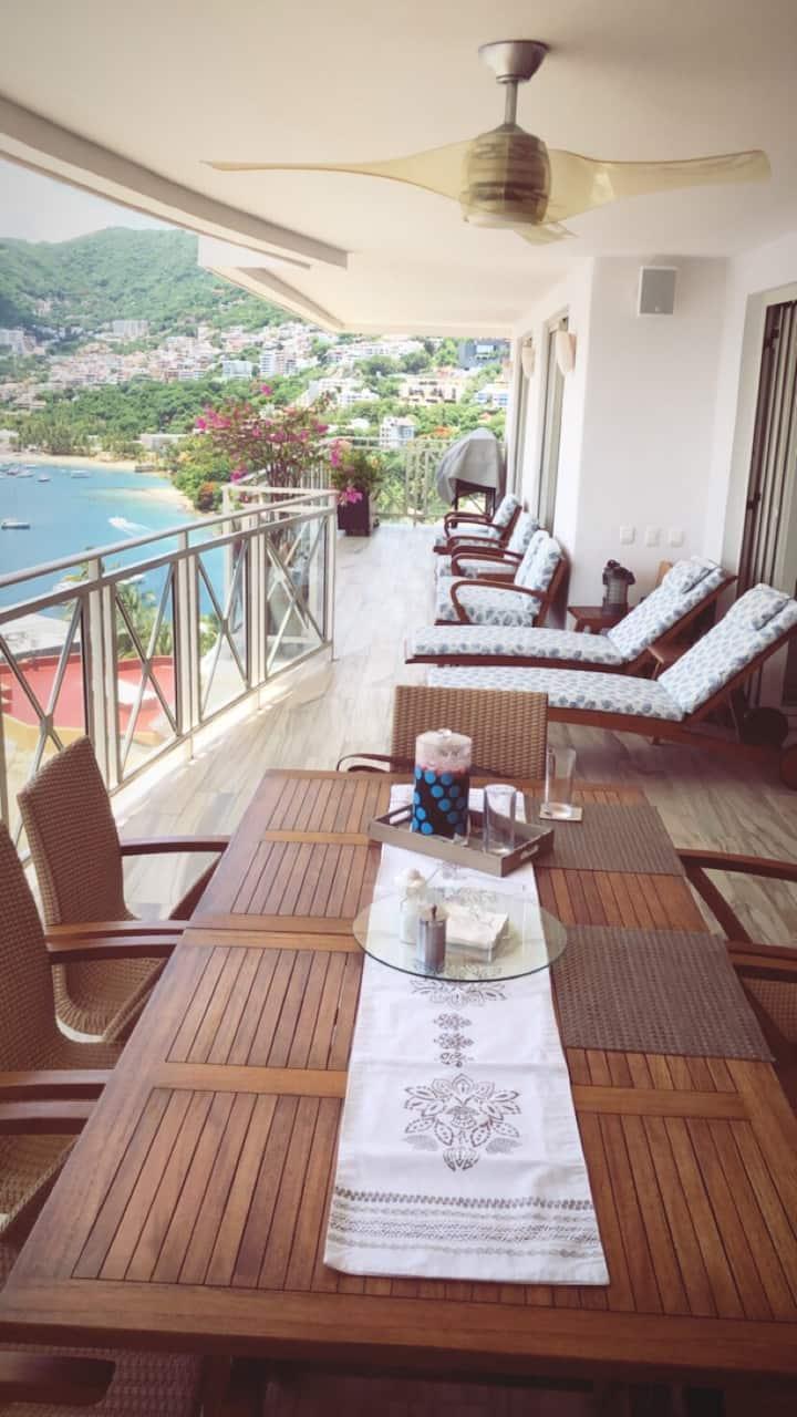 Excelente condominio con acceso al mar y exclusivo