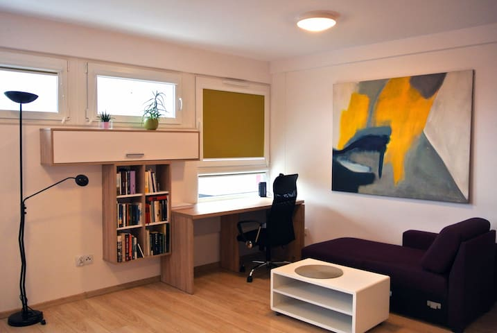 Modern and cozy studio