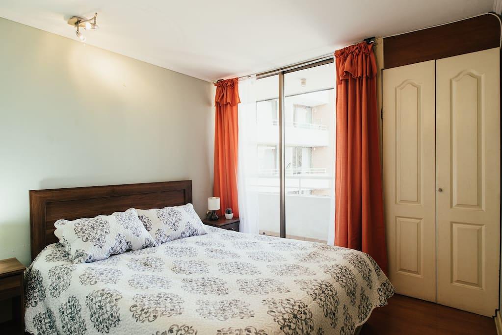 dormitorio espacioso