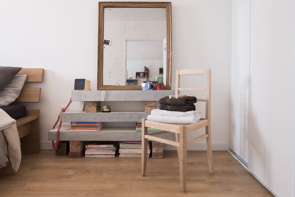 Décoration de la chambre
