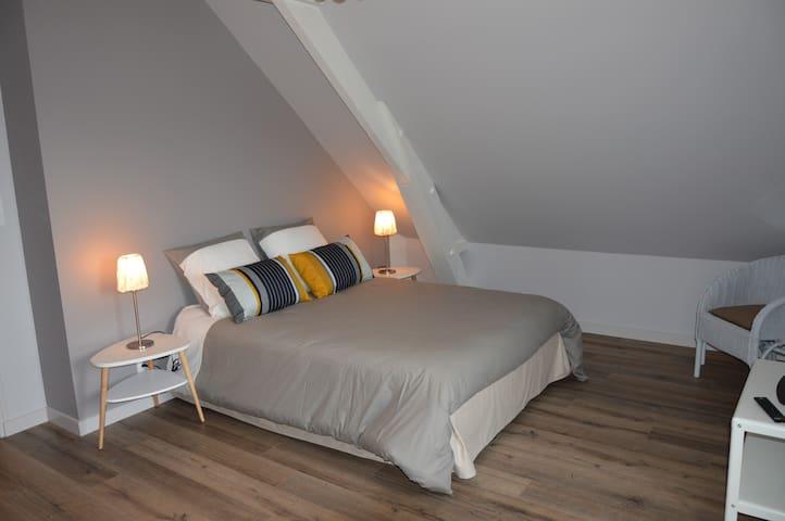 Les agÎtés - Gîtes urbains classés - Bain-de-Bretagne - Apartamento