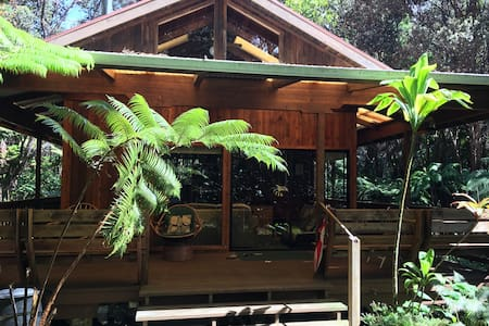 Beautiful Cedar Cottage in Volcano - Volcano - Rumah