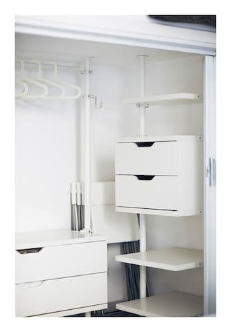 Little walk-in closet - piccola cabina armadio