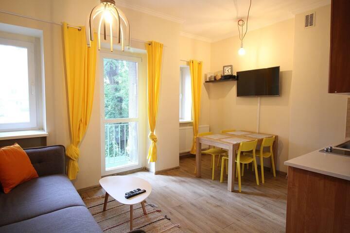PORTO - Apartament Gdynia Śródmieście 2 pokoje