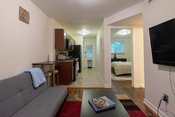 Quaint & Warm Apartment in Historic Anacostia, DC