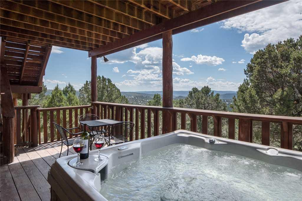 Every mountain vacation needs a hot tub, and you're all set when you stay at Buena Vida.