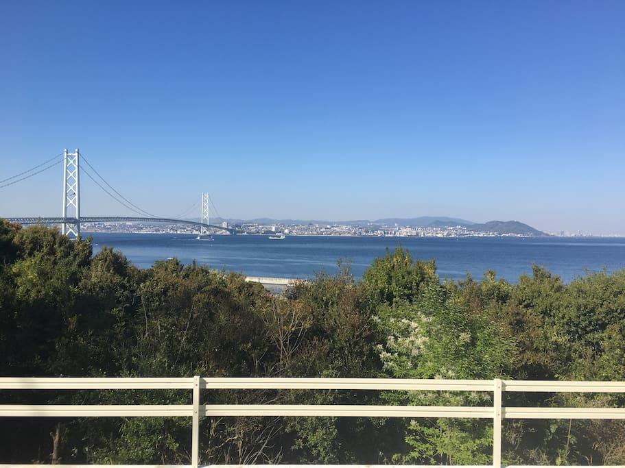 景色は最高です 世界一の吊り橋が目の前に広がります