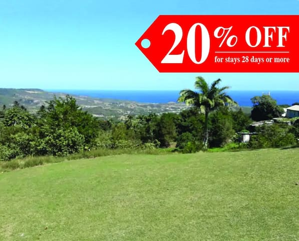 Big discounts for stays of 42 days or more!