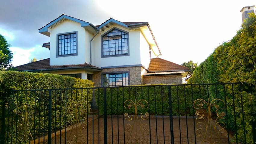 Furnished 4 bedroomed townhouse - Kiambu