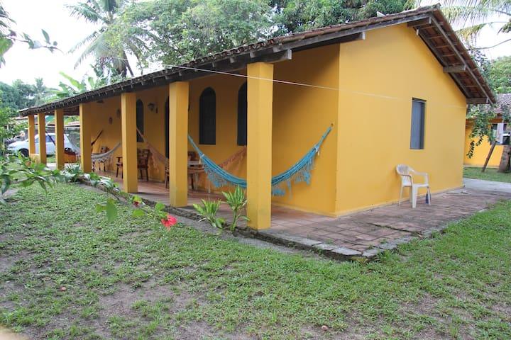 Barra Grande Praia dos Sonhos  - Barra Grande de Camamu - Cabana