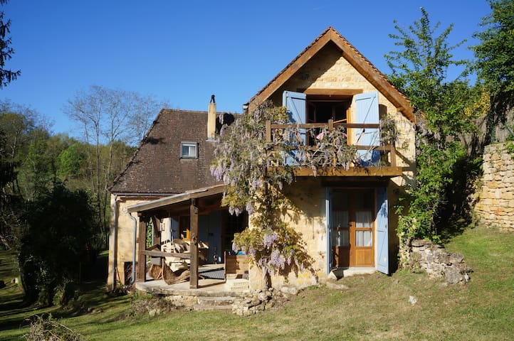 Stylish cottage in charming secret Dordogne hamlet - Savignac-de-Miremont - 一軒家