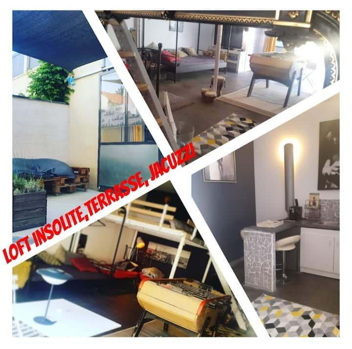 Loft XL confinement insolite,dépaysant,relax & spa