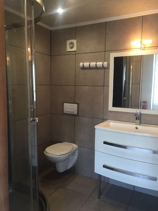 Salle de bain et wc privé