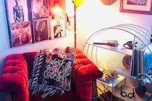 Eclectic Bedroom in Ybor City!