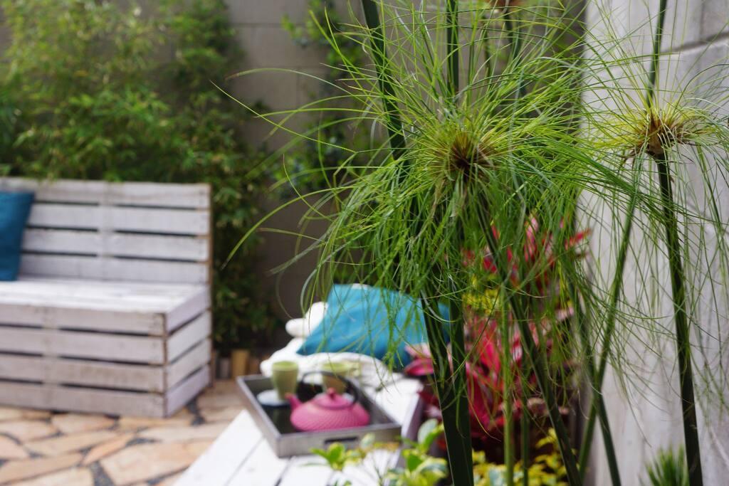 otro angulo del jardin