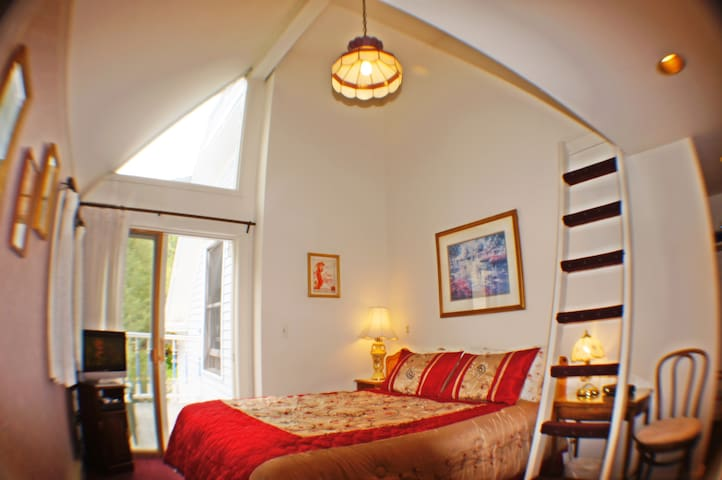 Snow Queen Lodge: Fancy Lady Suite
