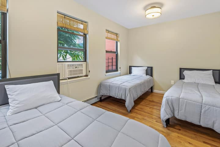 Shared Room in Modern Coliving | GYM