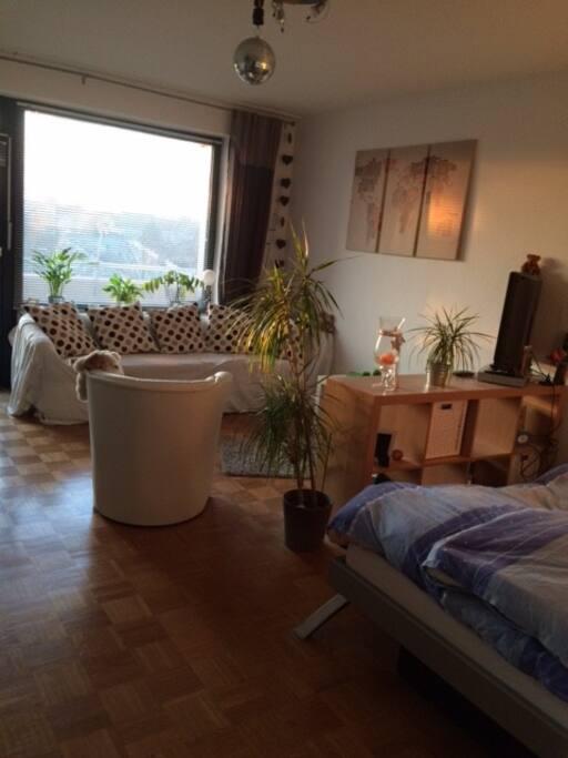 gem tliche 1 5 zimmerwohnung flats for rent in hannover niedersachsen germany. Black Bedroom Furniture Sets. Home Design Ideas