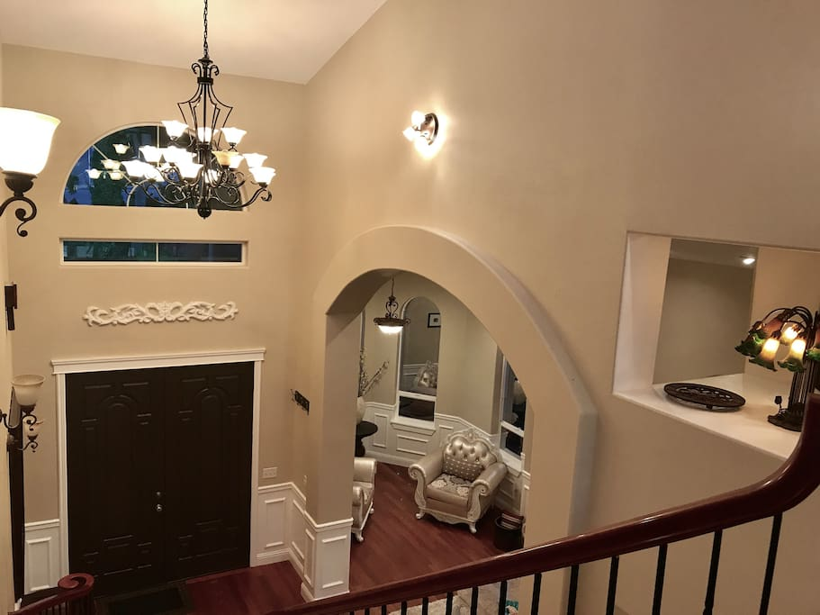 From Top Floor to Front Entrance