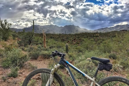 Scottsdale Rural Ranch Retreat Hike Bike Ride