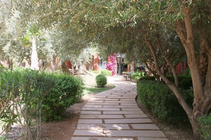 Calme, Piscine, Jacuzzi aux portes de Marrakech - Marrakesch - Wohnung