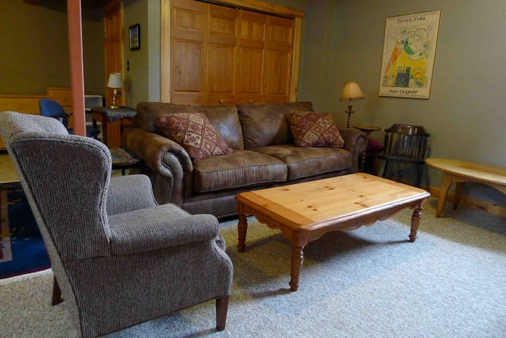 Spacious Room in Lower Level - Crested Butte - House