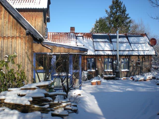 Kleines Gästezimmer am Elberadweg (Bio) - Bleckede - Haus
