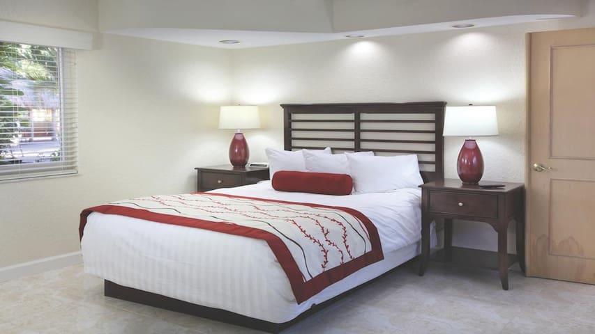 Sea Gardens Resort Bedroom (Unit May Vary)