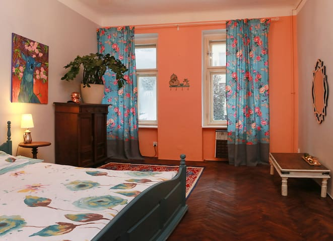Romantic Vintage Apartment at Vysehrad - Praag - Appartement