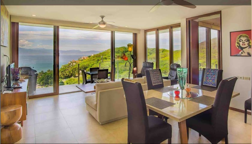 2 Bed, 2 bath condo with 2 pools and great view